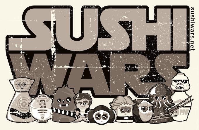 Vintage Sushi Wars