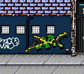 In game graffiti