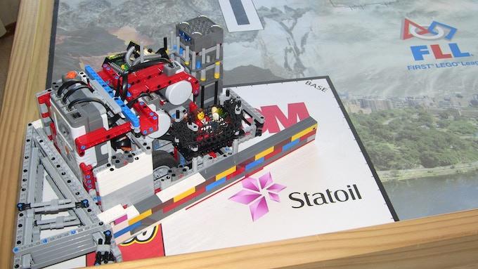 Eruptor - Our robot!