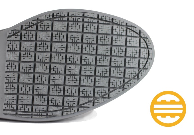 Every Rhea Shoes are carefully engineered using Rhea's patented GRIP-TECH outsole to keep you safe and stylish at all times