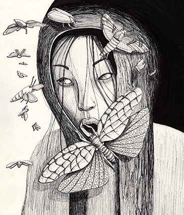 Example of a Pen & Ink Drawing