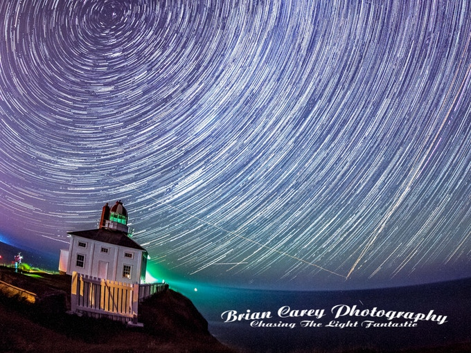 Cape Spear Star Trails