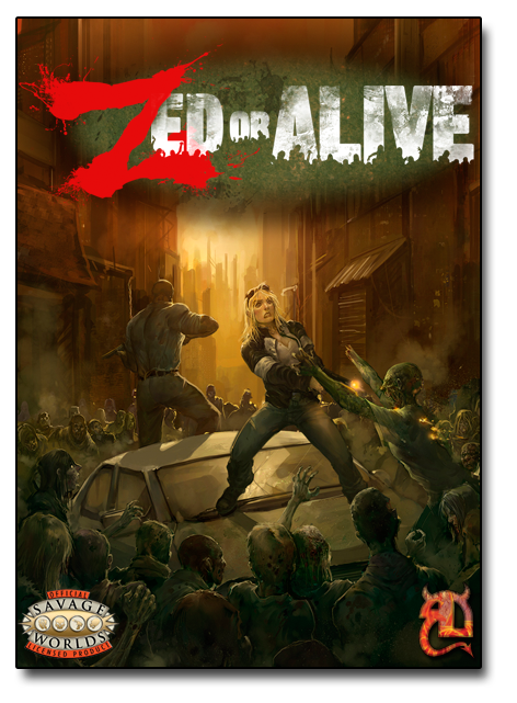 The Zed or Alive rulebook.