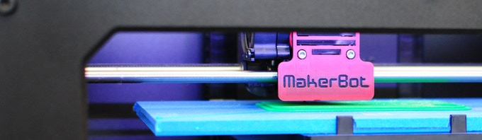 Click here to see the AMAZING Makerbot 3D printer in action