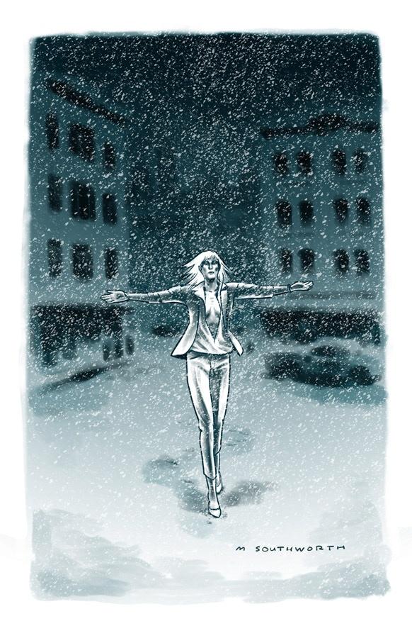 Snow Print by Matthew Southworth