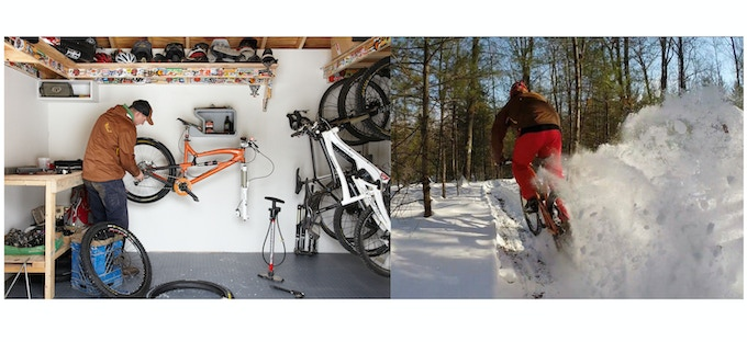Shelfie Home Is Where You Hang Your Bike By Juergen Beneke