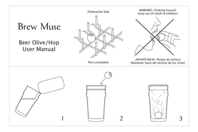 Draft of the User Manual designed in Illustrator