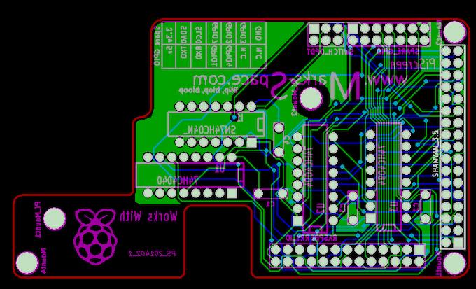 PiScreen PCB