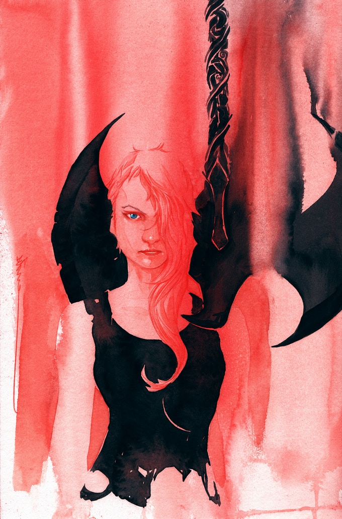 Tessa Battle Print by Dustin Nguyen