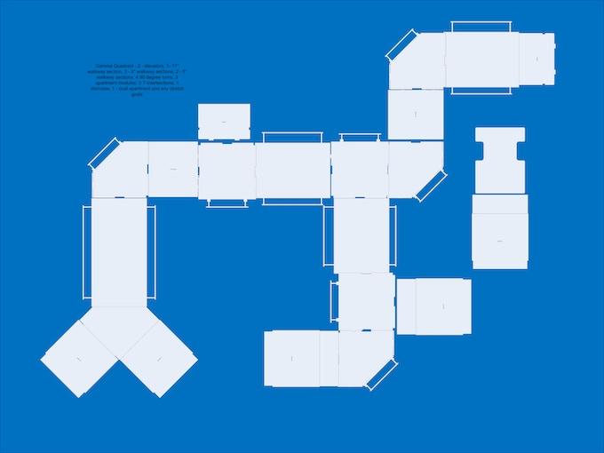 Gamma Quadrant on a 4x6' table sample layout