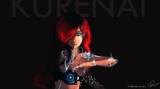 Kurenai Concept Art