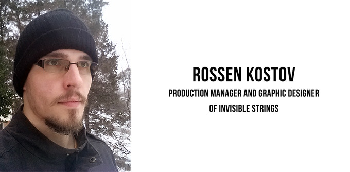 The production manger and graphic designer of Invisible Strings. Graduated with a BFA in Graphic Design and currently working as a Graphic Designer in Washington, DC.