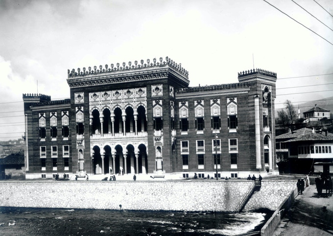 The City Hall as built in 1894
