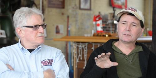 Grand River Brewing: Bob Hanenberg, President and Rob Creighton, Brewmaster