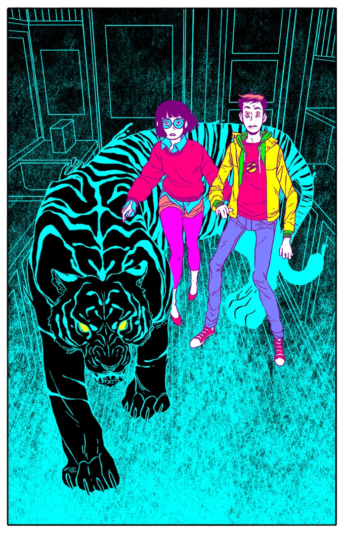 Micah, Brand, and Jeff Print by Jake Wyatt