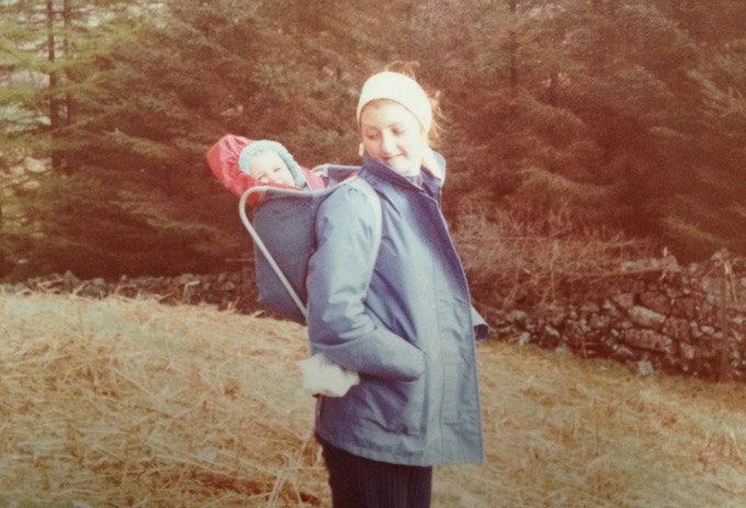 This is Mum and I circa 1973