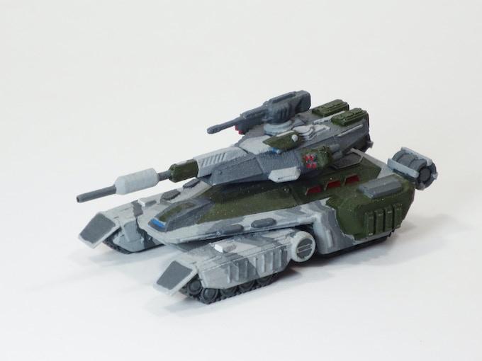 Goliath Tank Front
