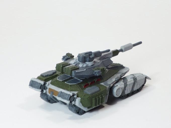 Goliath Tank Back
