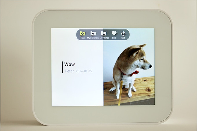 The touchscreen is the heart of our user experience