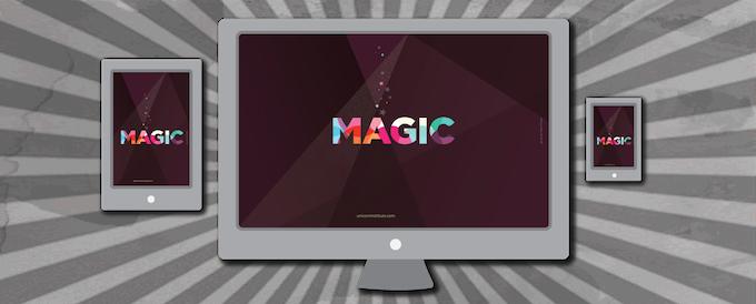 Magical desktop wallpapers by Veerle Pieters.