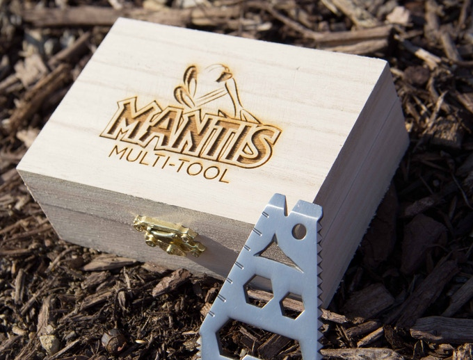All $46+ pledge levels will receive a wooden branded box with the logo of their choice! Great gift idea!