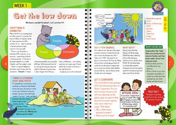 Week one of the 2013 Green Lane Diary magazine