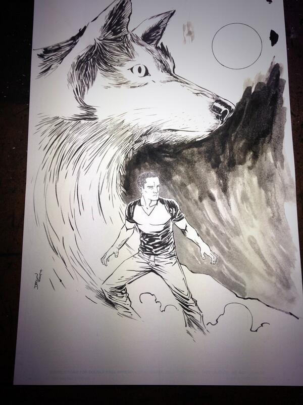 Progress Drawing by Declan Shalvey
