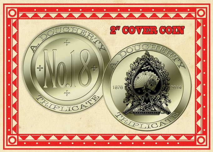 """2"""" Cover coin add on released at $16,000.00"""
