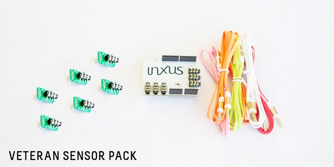 $38: You get (1) EasyPlug Shield, (6) DIY sensors, and (6) connector cables