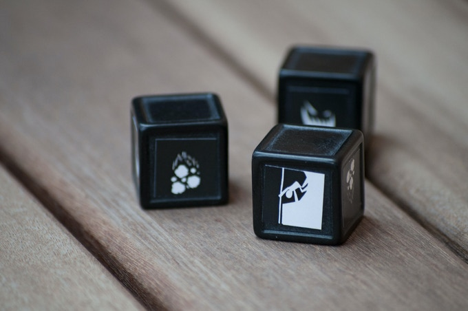 Obstacle dice