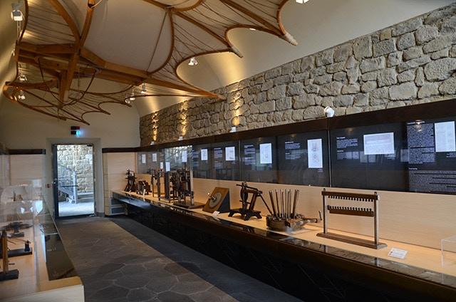Vinci Leonardian museum - a room designed by Alex.