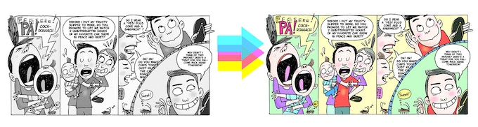 Pinoy Komiks: Filipino Comic Anthology by Adam Pasion