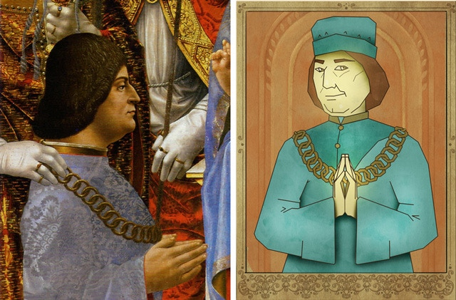 The actually not-that-pious Ludovico Sforza, Lord of Milan