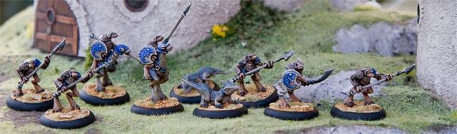 The Knights of Orelan Miniatures, part of the Fubarnii Empire