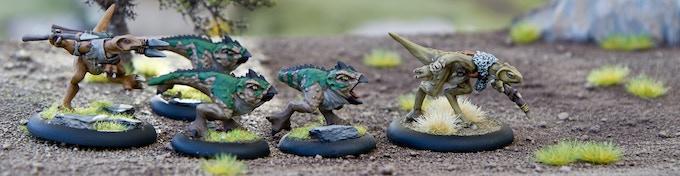 Devanu Outcasts Miniatures, part of the Devanu Culture
