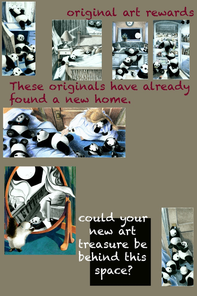 These orignal drawings have already been selected, but there are more! If you don't see the one you want, please ask and I'll send you the list of available originals.