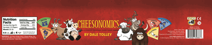 Cheesonomics North American Edition Box Side