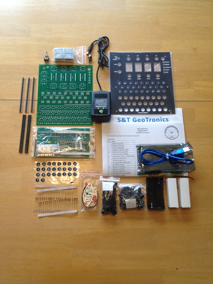 Open Enigma Kit, no Plugboard