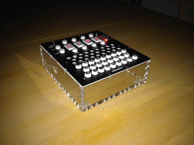 Assembled Open Enigma electronics, no plugboard