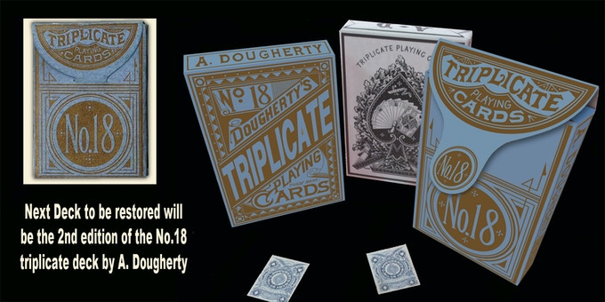 2nd Edition Box for the No.18 Triplicate Deck