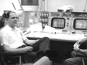 Bill Peters, Gemini Mission Control, circa 1965
