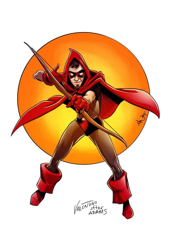 Invisible Arrow by Jim Valentino