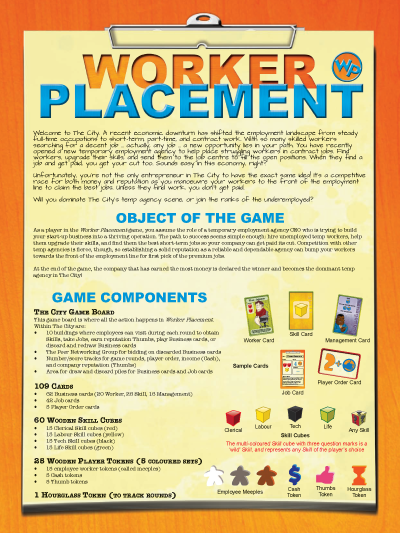 Click to download a complete PDF draft of the Worker Placement rulebook!