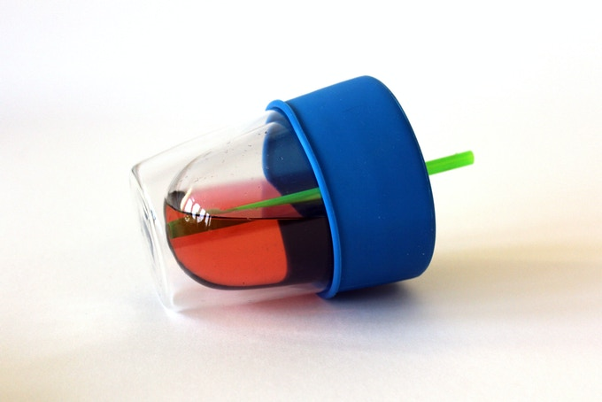 SipSnaps catch and stop the giant spills that are experienced when cups are knocked over