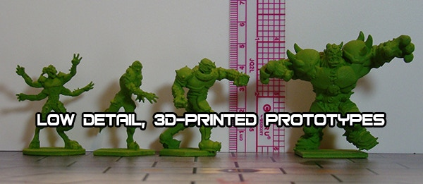Carnage team prototypes for size. Figures in product will be higher quality.