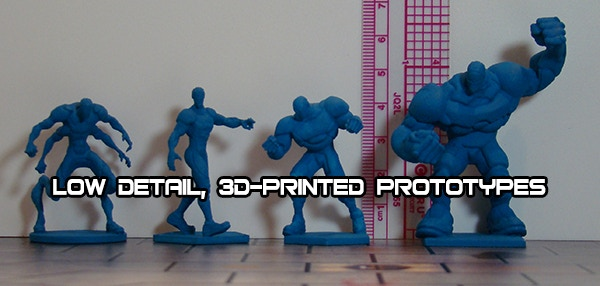 Nemesis team prototypes for size. Figures in product will be higher quality.