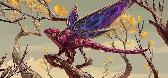 Drakinymph, a Vowelon trove illustrated by Eduardo Garcia