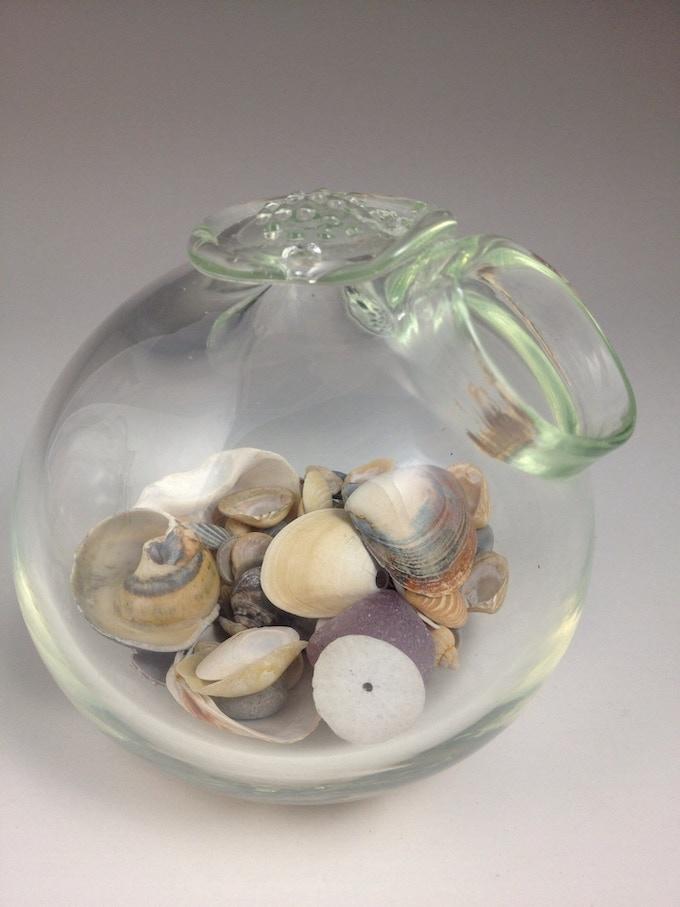 Sea glass collection orb reward