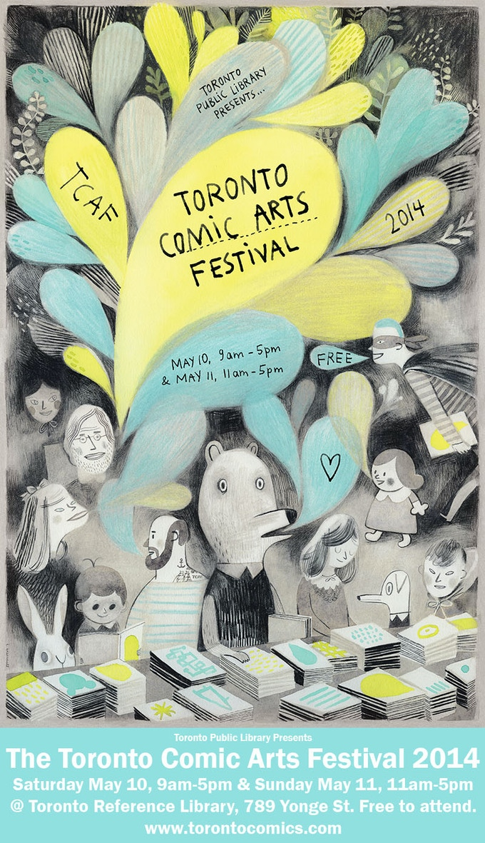 TCAF 2014! - Poster by Isabelle Arsenault