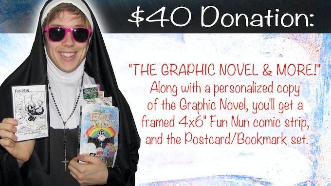 The Framed Fun Nun Strip will be random! A fun surprise!!!
